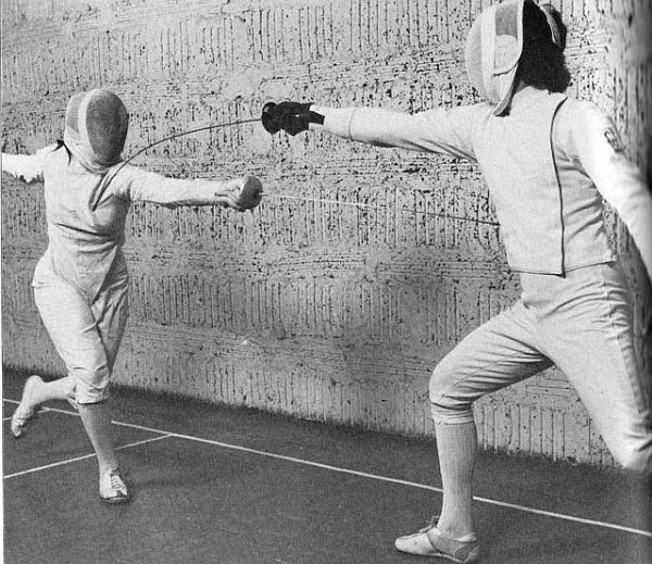 Modern Fencing Ruth White +Neal Cohen
